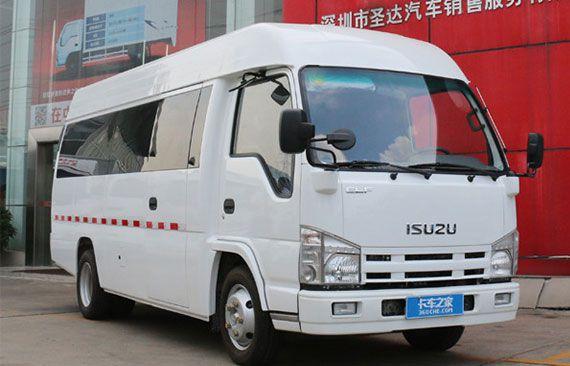 Qingling Isuzu Closed Urban Logistics Vehicle Listed